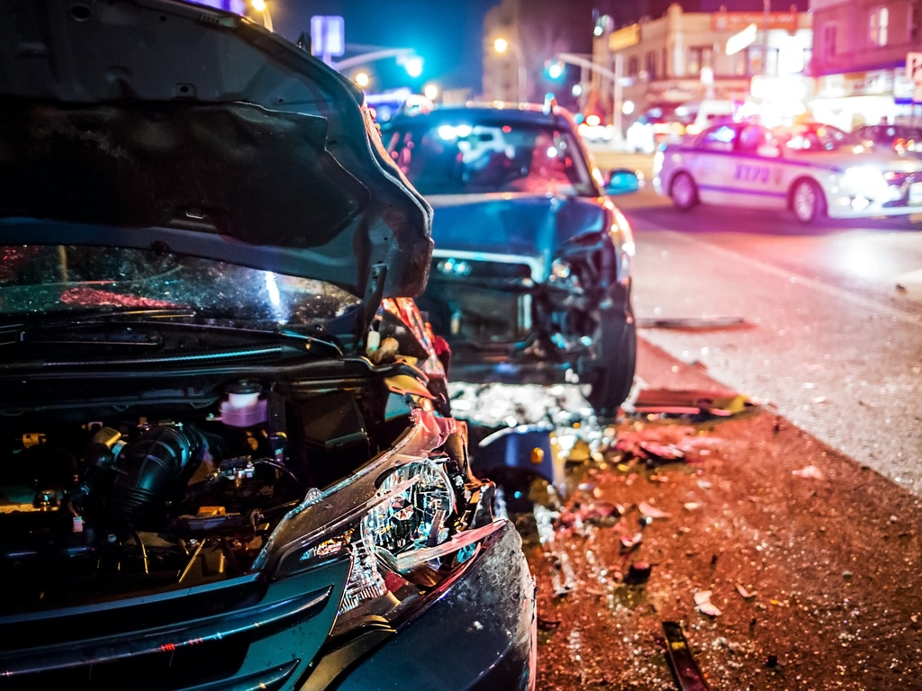 What is the most common cause of car accident
